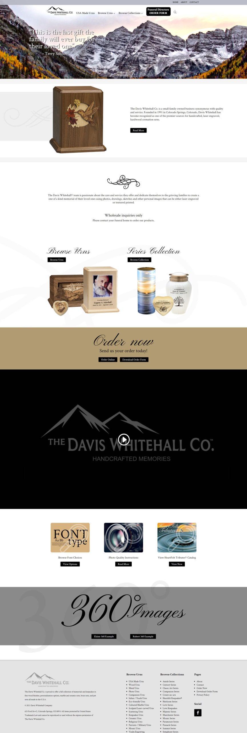 Davis Whitehall Urn Company