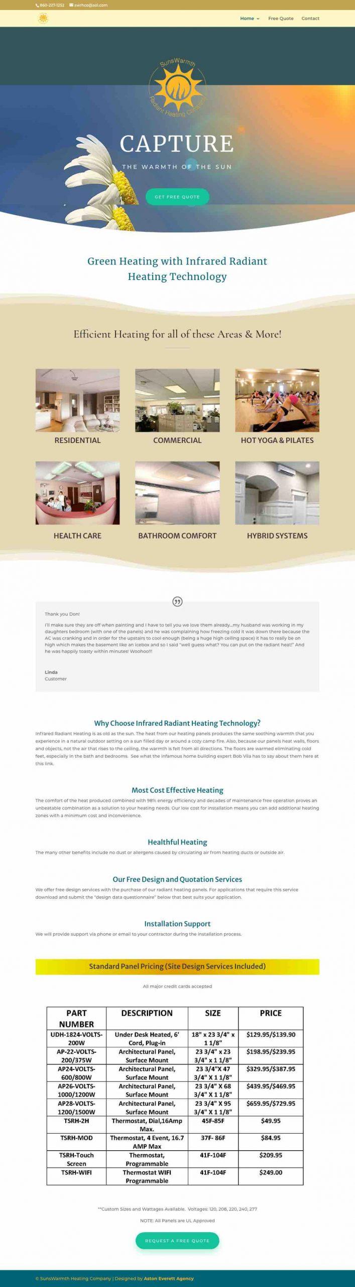 SunsWarmth - irradiantheat.com